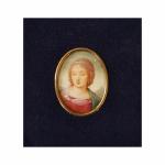 Madonna wg. Rafaela, miniatura – Anna Kubicka-Menel