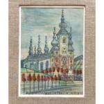 Kościół – Nikifor Krynicki