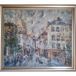 Montmarte, Rue Norvins – Włodzimierz Zakrzewski